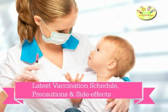 Latest Vaccination Chart Indian,Precautions & Side effects of vaccination