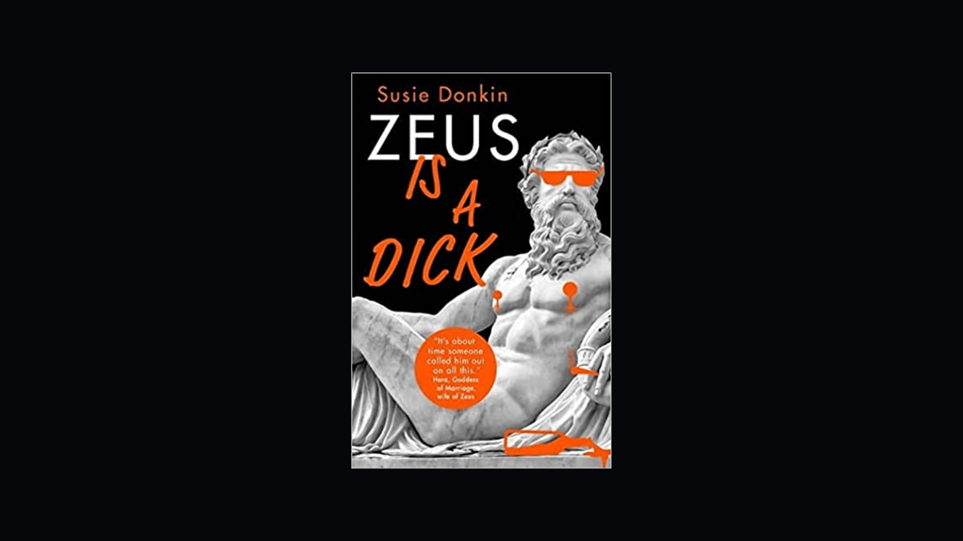 Zeus is a Dick | shitbookreviews.com