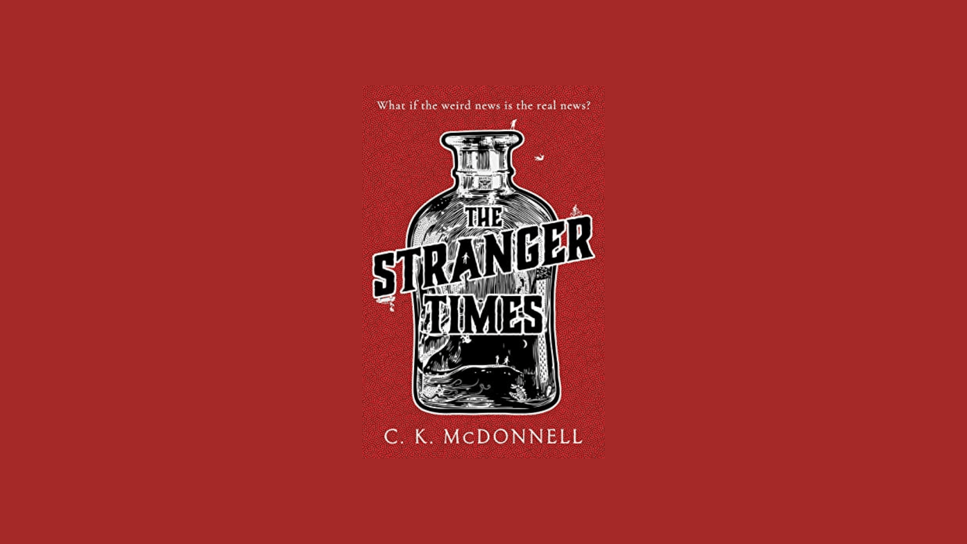 the cover of 'The Stranger Times' book