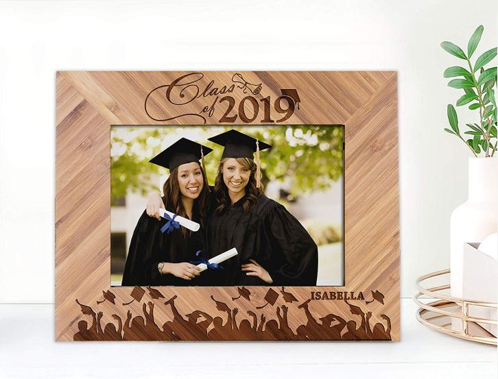 Class of 2019 Personalized Wooden Frame