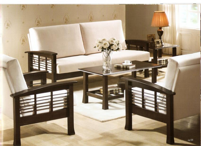sofa set designs for living room india rock wall wooden sets sheesham wood indian zoom