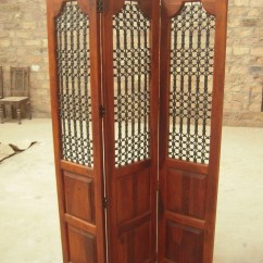 Best The Chairs Front Porch Chair Traditional Indian Wooden Carved Screen | Panel Solid Sheesham Wood ...