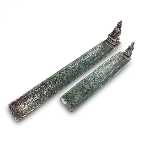 Thai Buddha Metal Incense Holder : Shiva Experience
