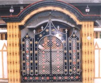 Royal Entry Gate, Cast Iron Gates, Decorative Gates, Front ...
