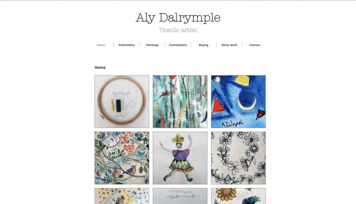 Aly Dalrymple artist website