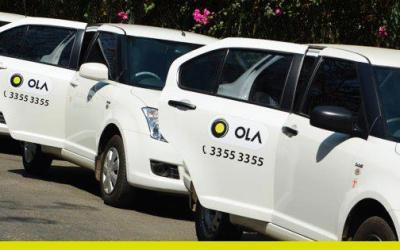 Inside Ola Cabs.