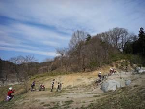 1504山屋セクションの岩