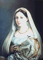 Raffaello - Thick woman - reproduction - oil on canvas - 80x60 cm