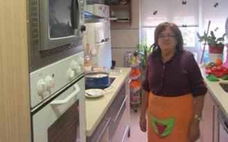 Host family kitchen