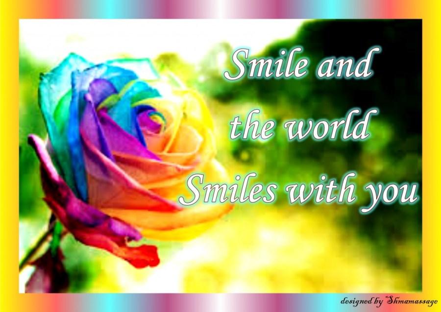 Quote Smile designed by Shmamassage, massagesalon, Rotterdam