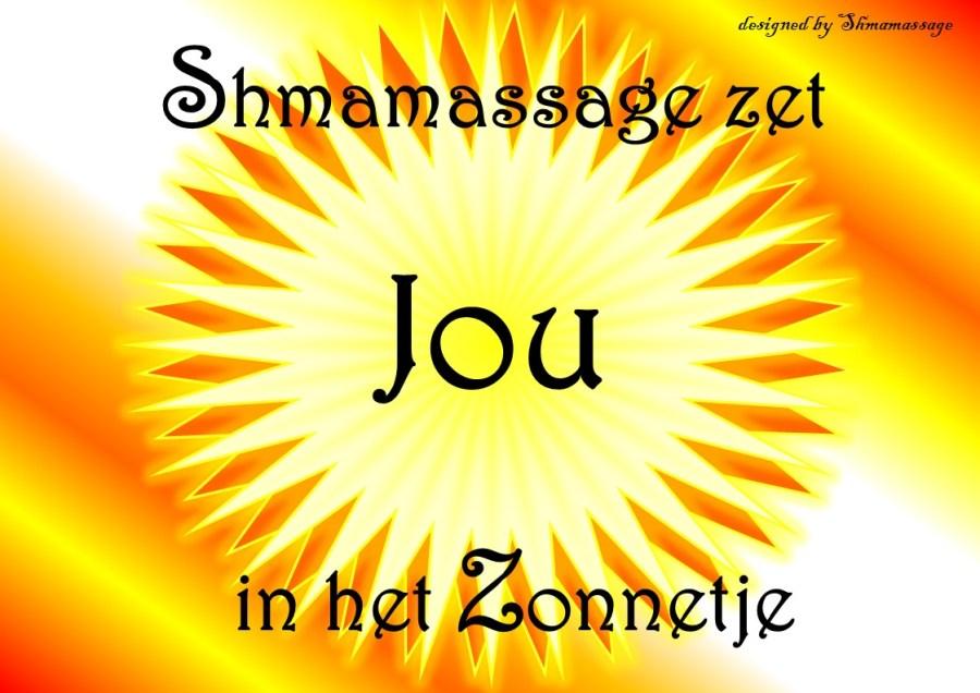 Een trouwe like-er en share-er wordt in het zonnetje gezet door Shmamassage 0031(0)620905302