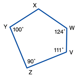 Angles in a Polygon Exercises
