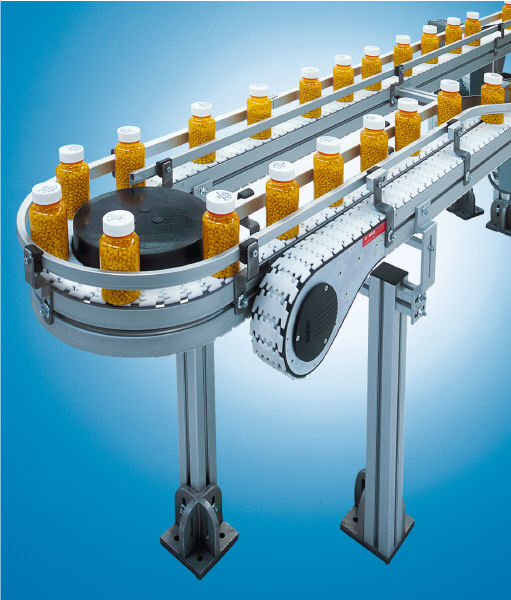 Chain Conveyor Systems in warehousing