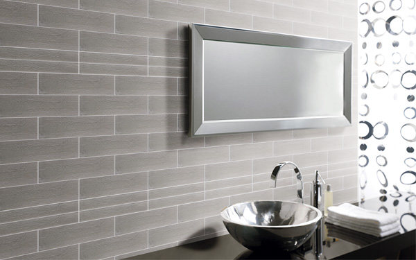 Ceramic  Stone Tiles  Graphite 4x12 CASGE064 by Casa Roma   Casa Roma Tile