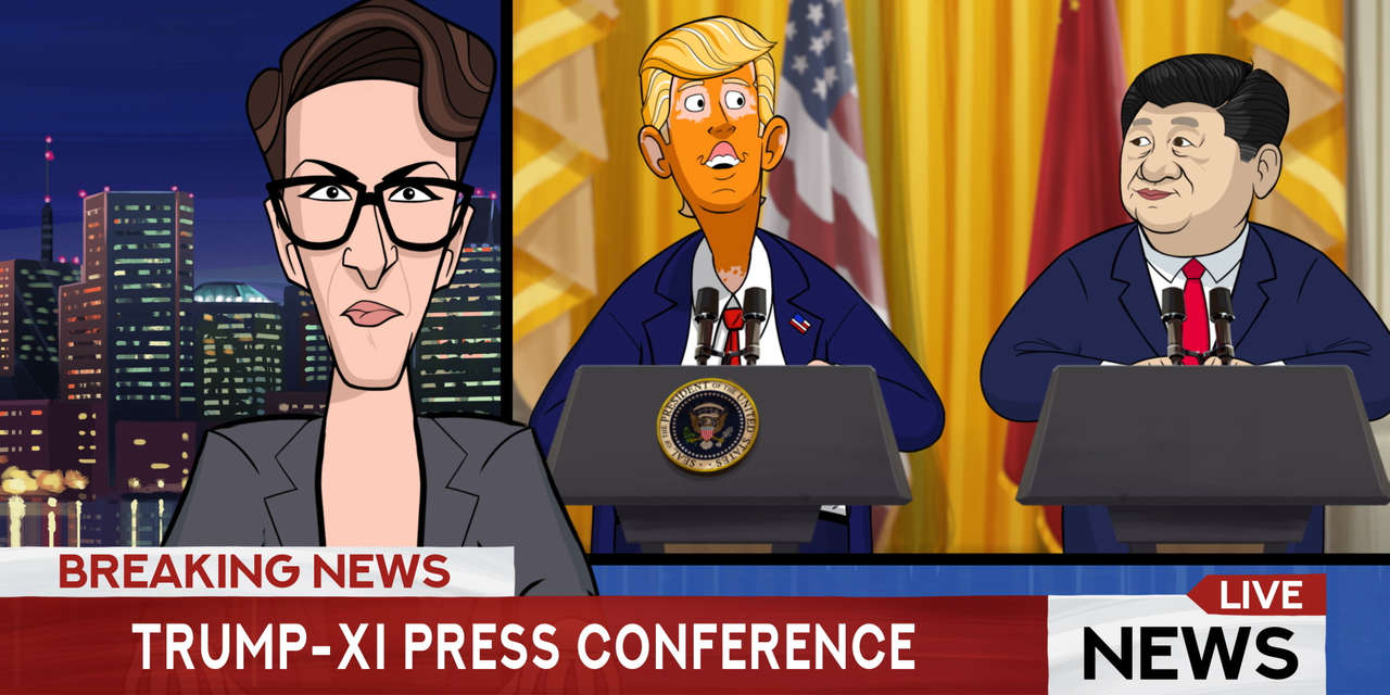 Our Cartoon President Lets Talk About Pangea SHOWTIME