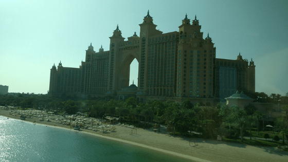 view of hotel atlantis in palm jumeirah - Home