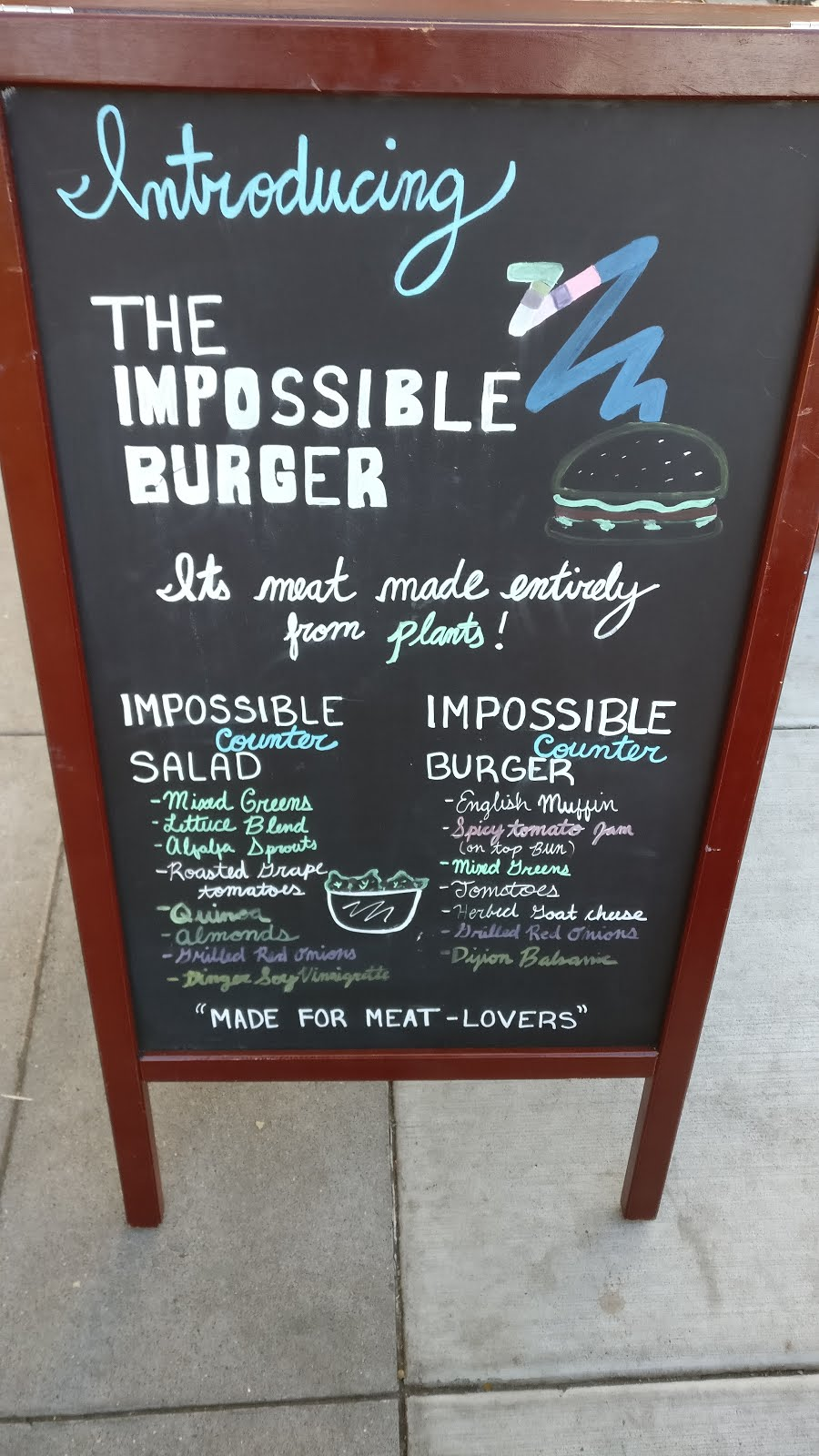 impossible burger with meat made of veg - Silicon Valley in pictures