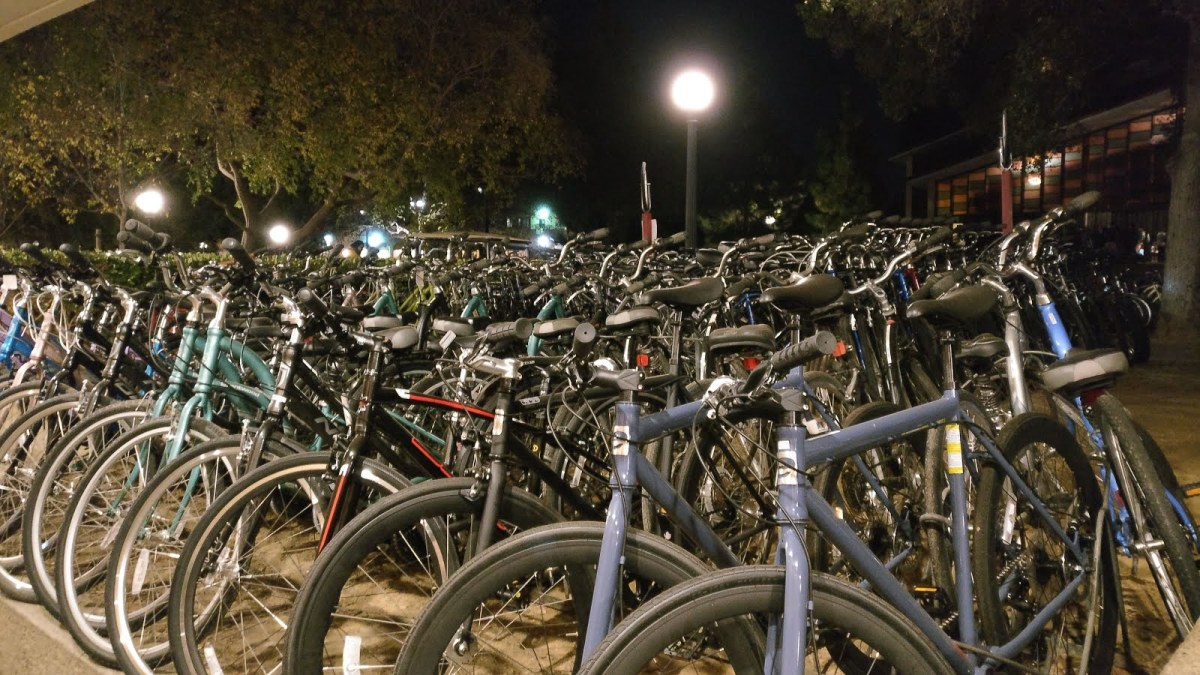 stanford university cycles - Silicon Valley in pictures