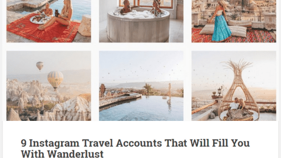 instagram giving you travel goals - Here's why I don't follow you on Instagram!