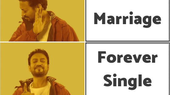 marriage or single forever - Home