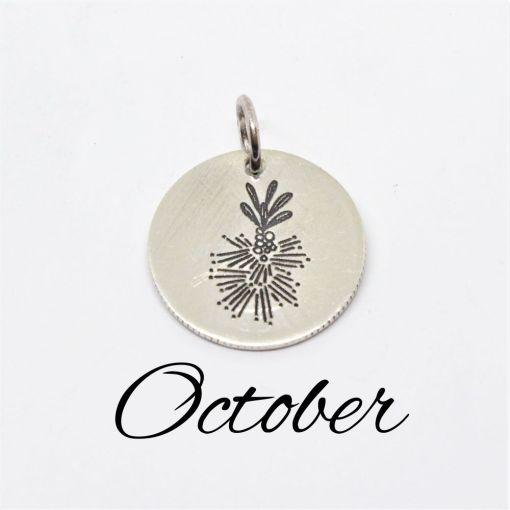 October Australian Native Flower Pendant