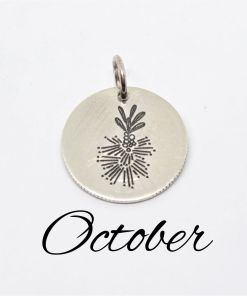 October Australian Native Flower Pendant