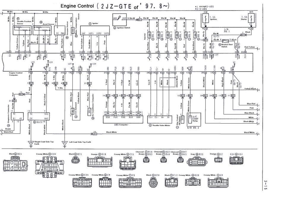 1jz Vvti Wiring Diagram : 23 Wiring Diagram Images