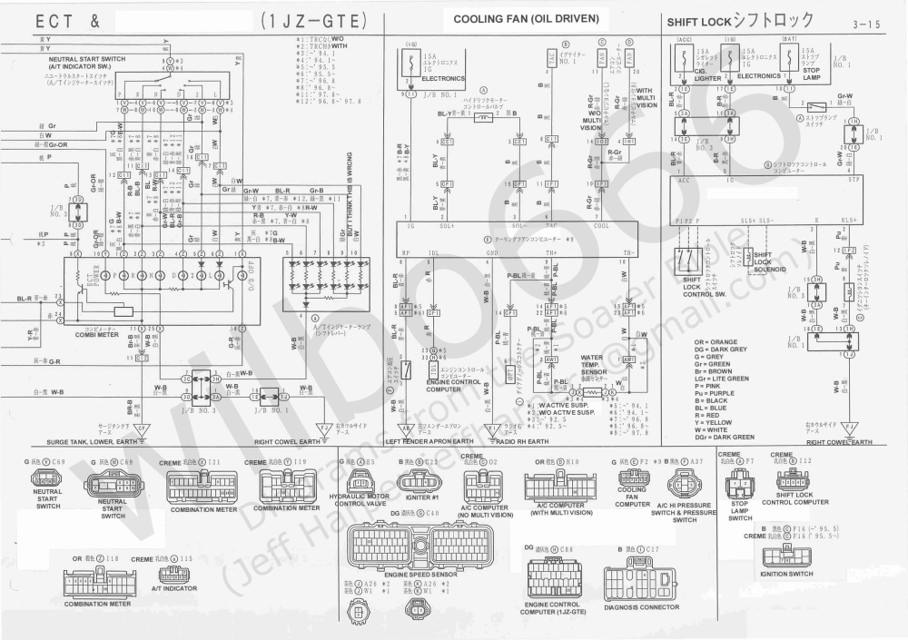 medium resolution of jzz30 wiring diagram images gallery