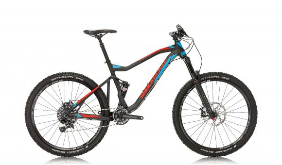 Bike Shockblaze SKIN RACE 27.5'' Man MTB FULL SUSPENSION Alloy