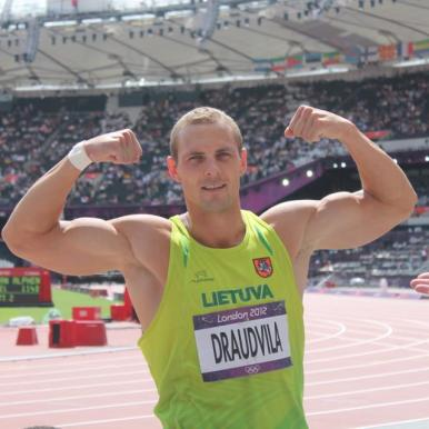 Darius Draudvila at the 2012 London Olympics