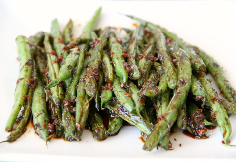 Sweet and Savory Thanksgiving Green Beans