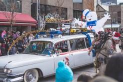 Défilé du père noël 2015 - Montréal - SOS fantômes