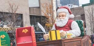 Défilé du père noël 2015 - Montréal - Père Noël