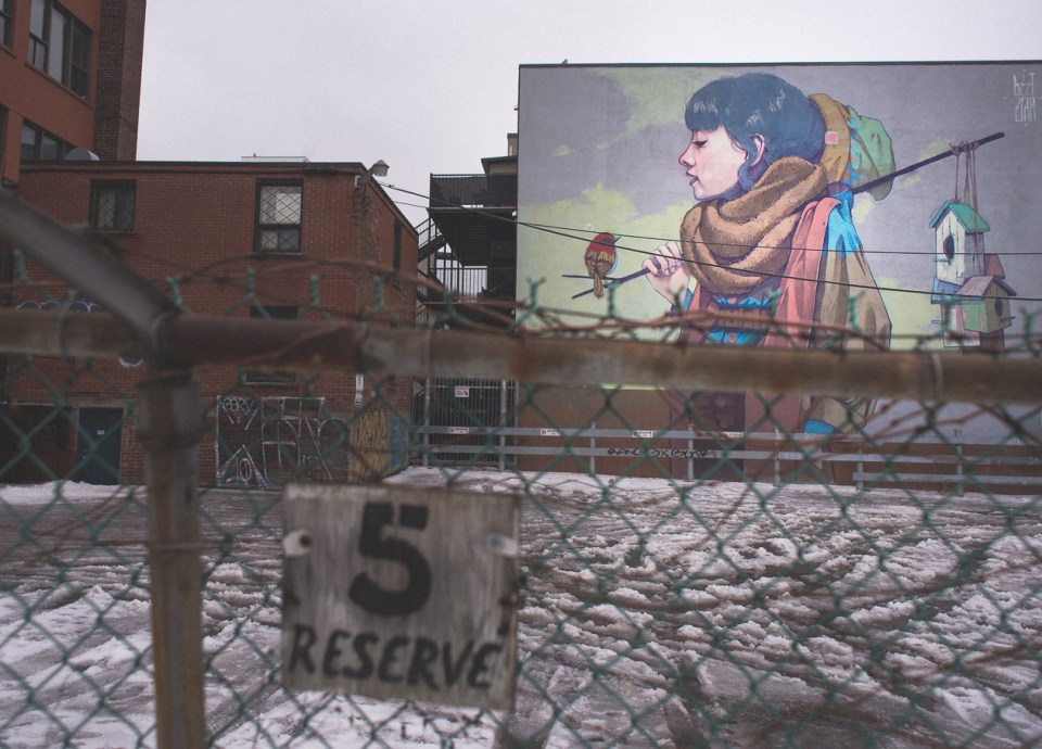 Bezt Eta cru - Peinture murale Montréal