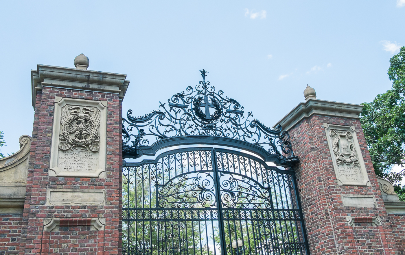 Harvard University Gate Boston