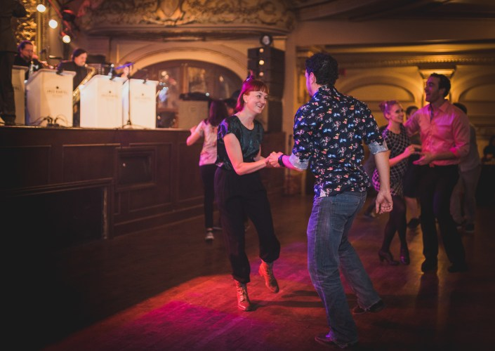 Photo de la soirée du Rialto Swing du 30 Novembre 2017, au Théatre Rialto de Montréal