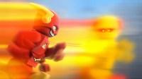 LEGO DC Super Heroes: The Flash Flying Onto Blu