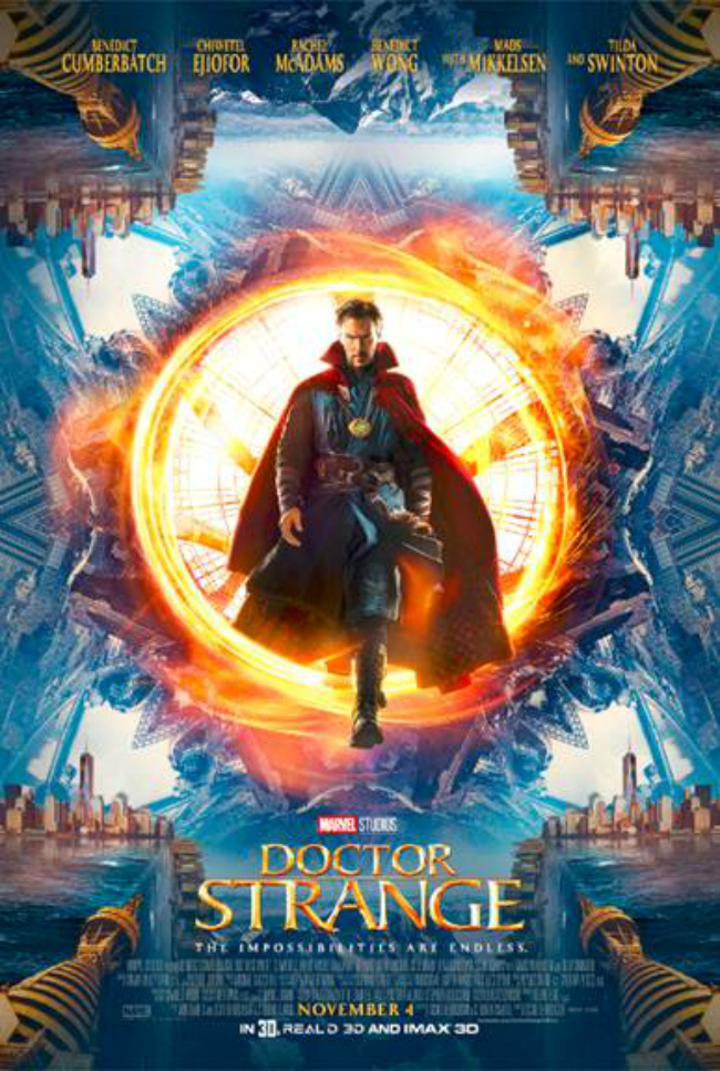 Image result for doctor strange movie poster