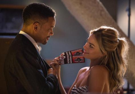 Will Smith & Margot Robbie in Focus
