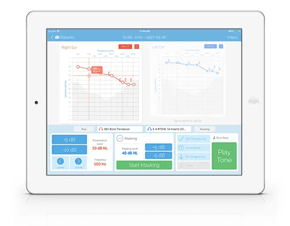 Clinical Audiometer | SHOEBOX Audiometry Pro System