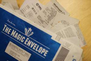 Shoeboxed Magic Envelope