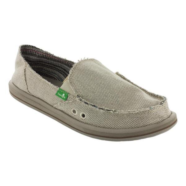 Sanuk Donna Hemp Slip- Shoes