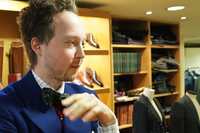 Finbesök av Daniel Wegan från Gaziano & Girling blir det på eventet. Bild: The Shoe Snob