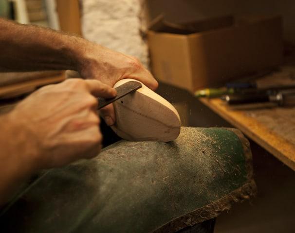 Har man originallästen finns betydligt större möjligheter att forma om skorna. Bild: Kleman Shoes