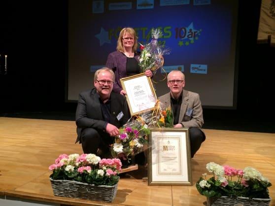 Björkmans Skomakeri utsågs förra året till Ludvikas bästa butik. Nu öppnar man också i Falun. Bild: Björkmans Skomakeri