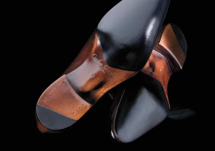 Färdiga skor från Handgrade-linjen.