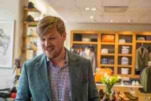 Reportage - Fredrik Blindheim, Sales Manager Edward Green