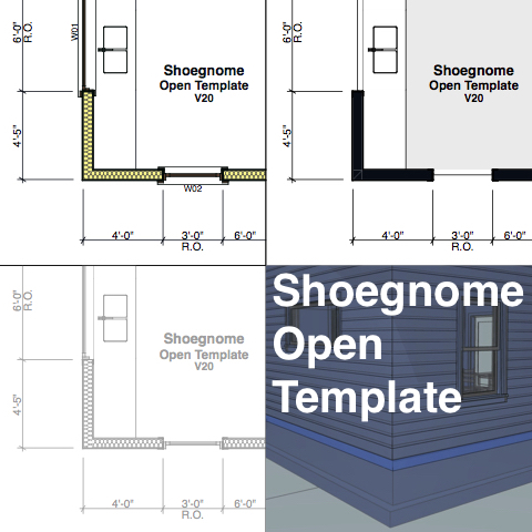 Shoegnome Open Template for ARCHICAD 20 – Shoegnome Architects