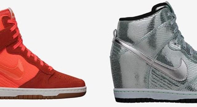 Bekijk en shop hier deze te gekke Nike wedge sneakers. Metallics en glitter & glamour. Shop de Nike wedge sneakers van 2014 hier. Ontdek de designs.