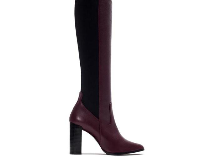 Copycat: Chloé vs. Zara boots. Alles over deze fashion copycat: Chloé laarzen vs. Zara laarzen. Vergelijk deze over the knee boots hier. Shop nu.